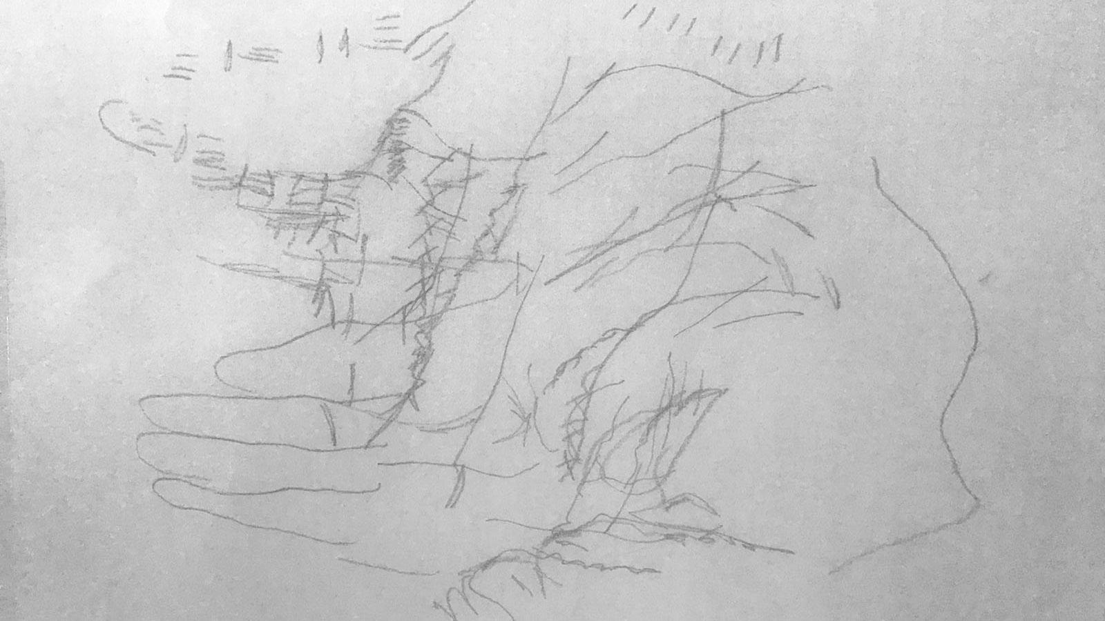Esercizio di disegno e pittura n.2