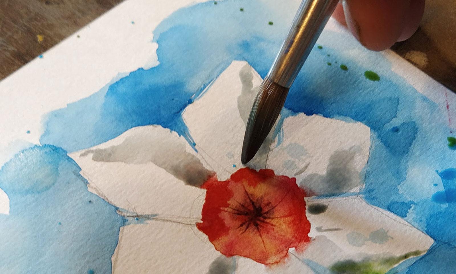 Esercizio di disegno e pittura n.3