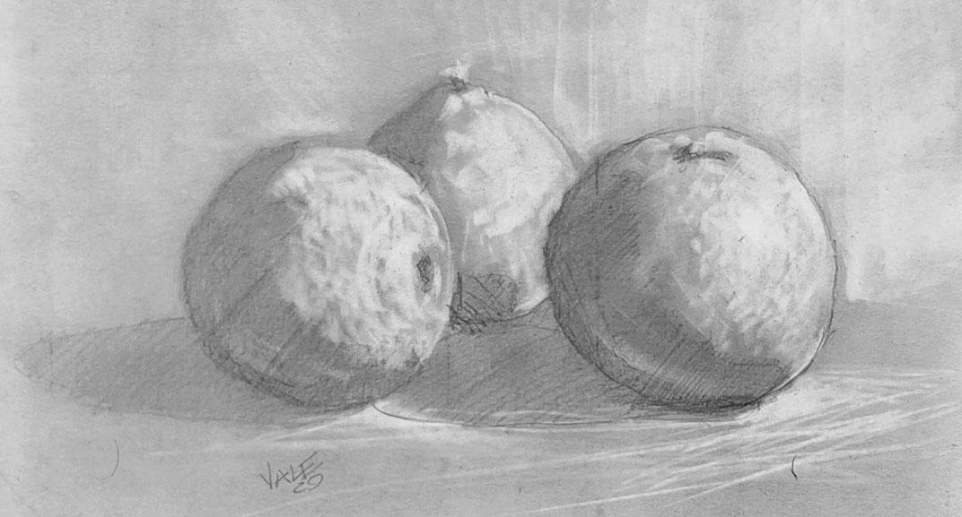 Esercizio di disegno e pittura n.4