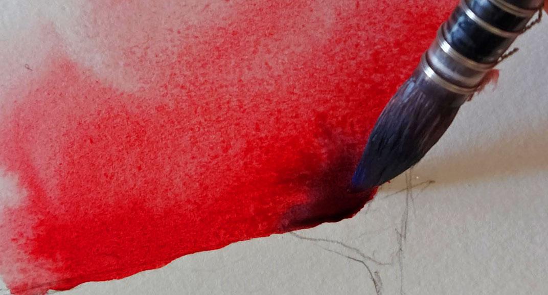 Esercizio di disegno e pittura n.6