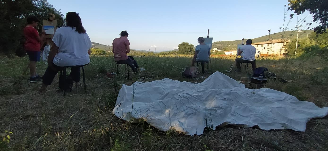 Lezione di pittura en plein air – 7 agosto 2020