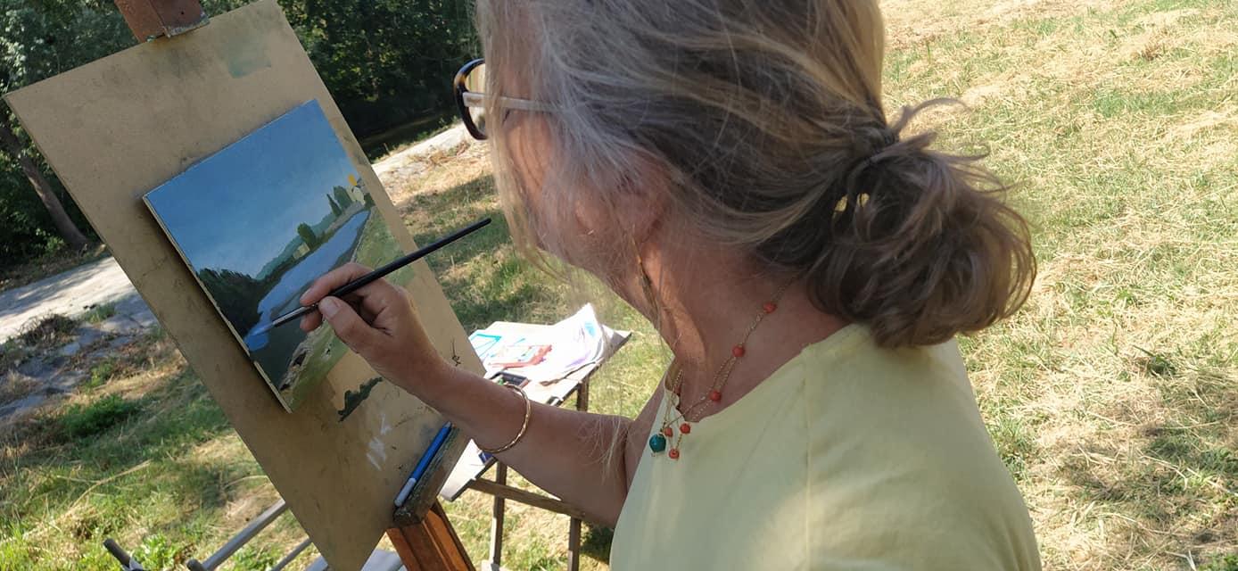 Lezione di pittura en plein air – 1 agosto 2020