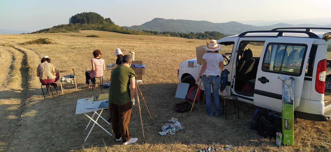 Lezione di pittura en plein air – 12 settembre 2020