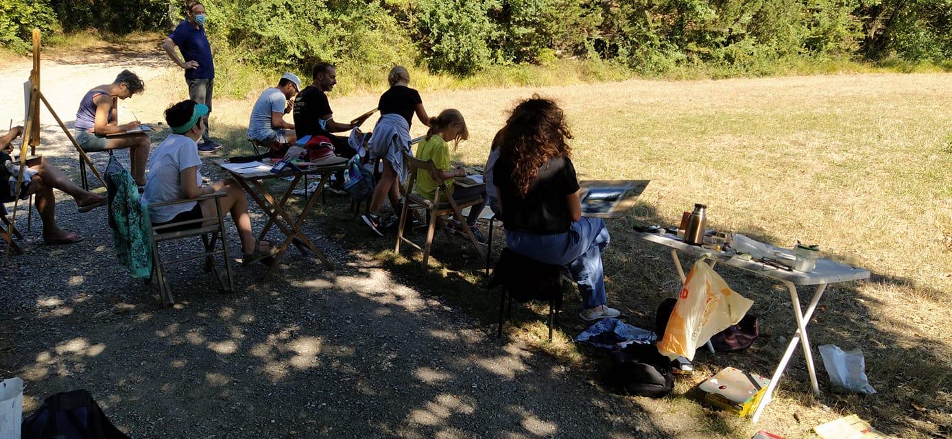 Lezione di pittura en plein air – 6 settembre 2020